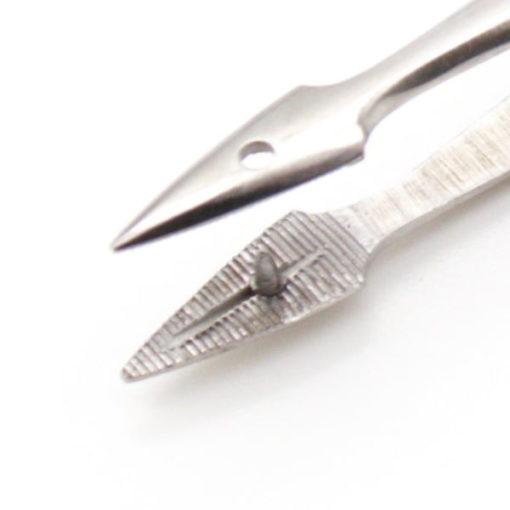 Hunters Splinter Forceps Straight 11.5cm close up