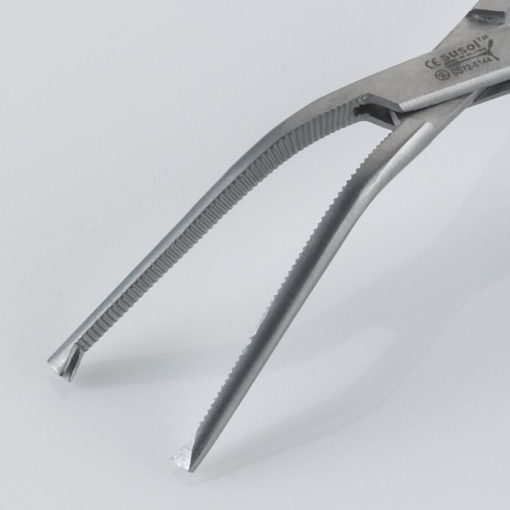 Susol Single Use Berkeley Bonney Forceps Angled 19cm pk10 Jaws min