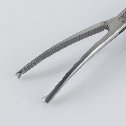 Susol Single Use Bonney Forceps Curved 19cm Jaws min