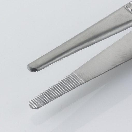 Susol Single Use Bonneys Dissecting Forceps Serrated 18cm pk10 Jaws min