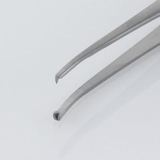 Susol Single Use Iris Dissecting Forceps Curved 12 Teeth 11.5cm pk10 Jaws min