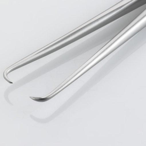 Susol Single Use Leur Vulsellum Forceps 11 Teeth 24cm pk10 Teeth min