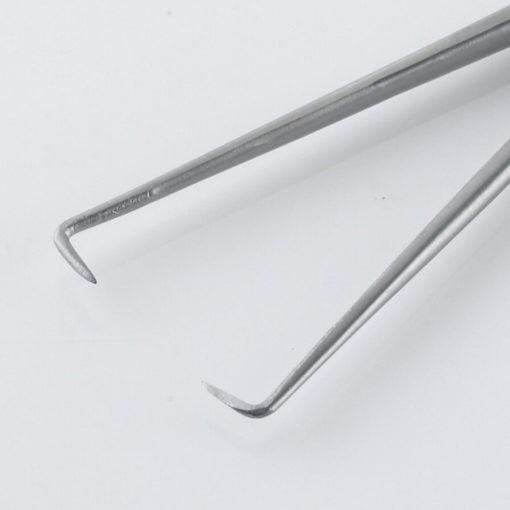 Susol Single Use Schroeder Tenaculum Forceps 11 Teeth 25cm pk10 Jaws min