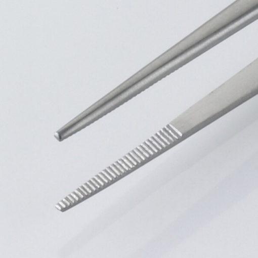Susol Single Use Semkin Dissecting Forceps Serrated 13cm pk10 Jaws min