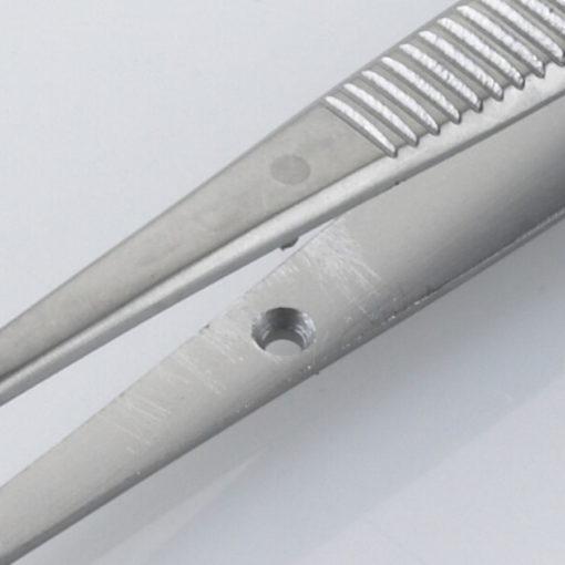 Susol Single Use Semkin Dissecting Forceps Serrated 13cm pk10 Pin min