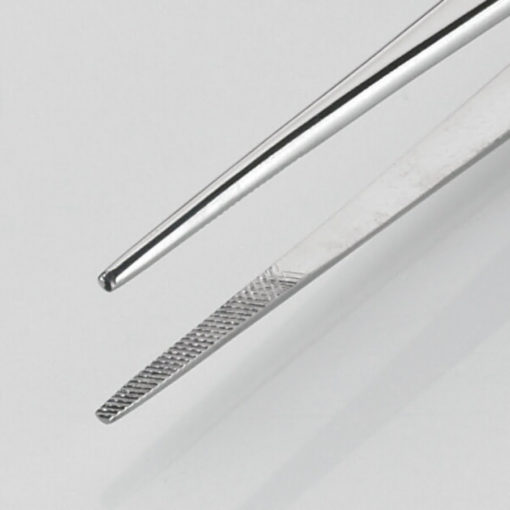 Waughs Dissecting Forceps Serrated 18cm Product Image Jaws