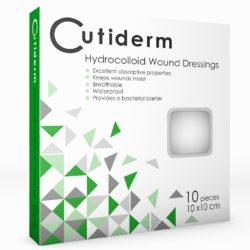 CUTIDERM HYDROCOLLOID 10CMX10CM 10 min
